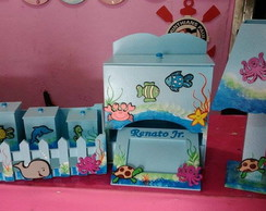 Kit de Higiene para bebes Fundo do mar