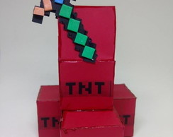Porta Doces Minecraft TNT