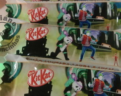 20 Chocolates Mini Kit Kat Personalizado