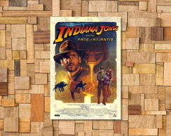 Placa Decorativa Indiana Jones