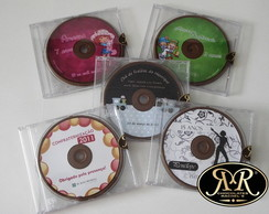 CD de chocolate personalizado