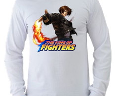 Camiseta King of Fighters manga longa 01