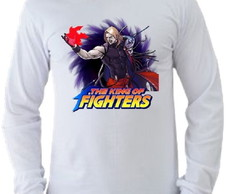 Camiseta King of Fighters manga longa 03