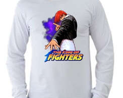 Camiseta King of Fighters manga longa 04
