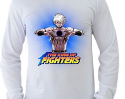 Camiseta King of Fighters manga longa 07