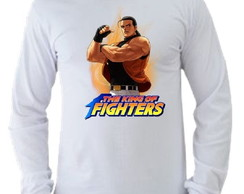 Camiseta King of Fighters manga longa 08
