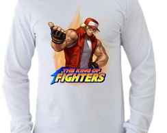 Camiseta King of Fighters manga longa 09