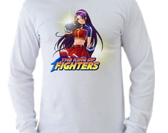Camiseta King of Fighters manga longa 10