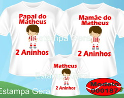Kit Camisetas Personalizadas Time