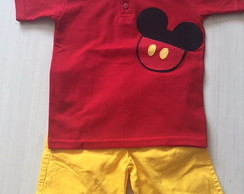 Conjunto Mickey polo
