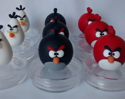 Lembrancinha Angry Birds mint to be