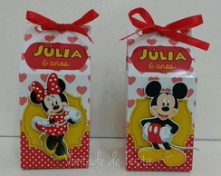 Caixa milk Mickey e Minnie