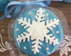 Alfajor decorado Frozen