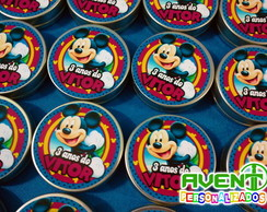 Latinha mint to be Mickey
