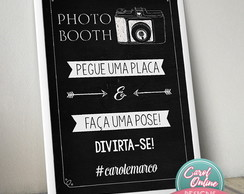 Photo Booth Chalkboard (Arte Digital)