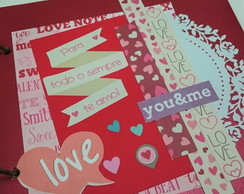 Álbum de Scrapbook LOVE