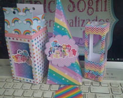 Kit my little pony 40 unidades!