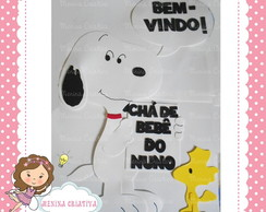 Painel Snoopy e Woodstock
