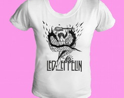 Camiseta babylook Led Zeppelin 06
