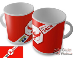 Caneca Pokémon GO - Team Valor