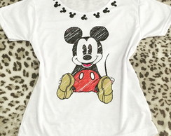 Tshirt Camiseta Mickey customizada