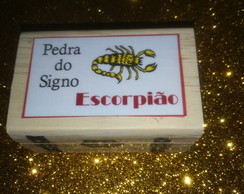 PEDRA DO SIGNO DE ESCORPIÃO