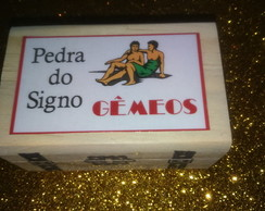 PEDRA DO SIGNO DE GÊMEOS