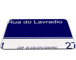 Mouse Pad Rua do Lavradio