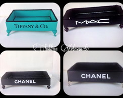 Bandeja Chanel, MAC, Tiffany , Boss,