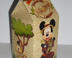 Caixa Milk Mickey Safari 3