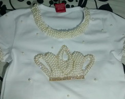 Body / Baby look Personalizado Princesa