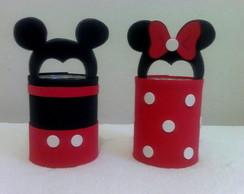 Porta treco Mickey e Minnie
