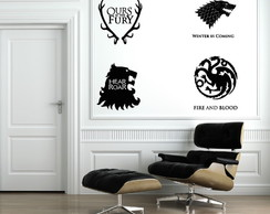 Adesivos Game of thrones