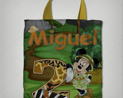 bolsinha mickey safari 17x19