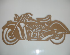 Moto Indian - Mdf 3mm - 42 X 21