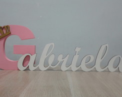 Letras decorativas MDF