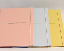 f02c91950fc Pasta Fichário A5 para planner ou arquivo - Diversas cores no Elo7 ...