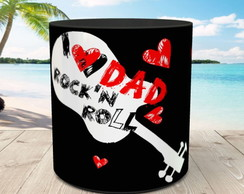 Caneca Papai Rock in Roll 1