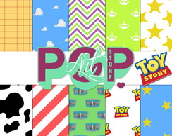 Kit Papel Digital Festa Toy Story