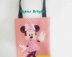 Sacolas Ecobag Tema Minnie