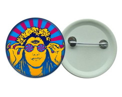 Botton 3,5 - Hippie Butons Psicodelico