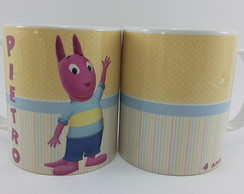 Caneca porcelana backyardigans