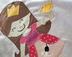 Camiseta com Patchaplique Princesa 12