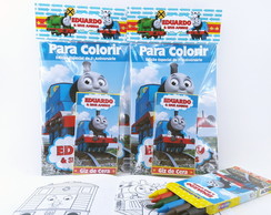 Kit de Colorir Thomas e seus Amigos