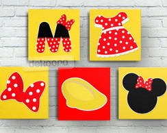 Quadros Decorativos Turma do Mickey