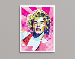 "Quadro ""Marilyn Pop"" A3"
