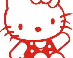 Adesivo Decorativo Hello Kitty