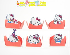 Forminha p/ montar hello kitty