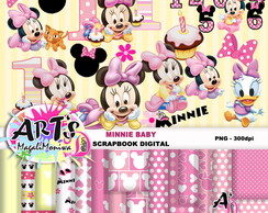 MINNIE BABY - MINI KIT DIGITAL