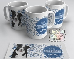 Caneca Pai de Border Collie